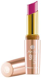 Fuchsia field - Lakme 9 to 5 crease less creme lipstick