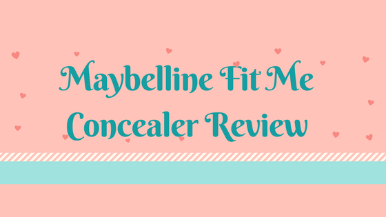 Maybelline fit me concealer review – concealer for perfect finish